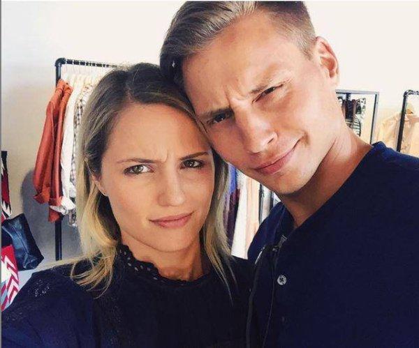 Dianna et son frère Jason postée par Dianna sur instagram.