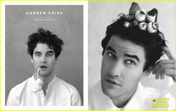 Nouvelles photos de Darren pour le magazine Herring & Herring.