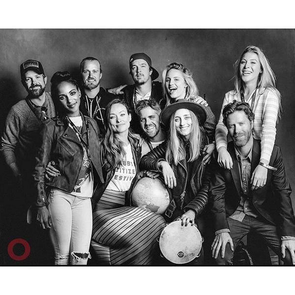 Dianna a posté cette photo avec ses amis au Global Citizen Festival.