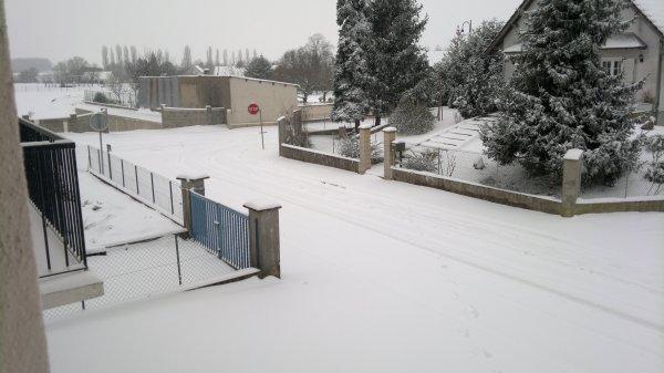 La neige de cette dernière semaine