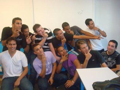 les gars la classe
