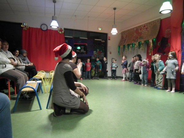 Spectacle de noël du mercredi 19 décembre 2012