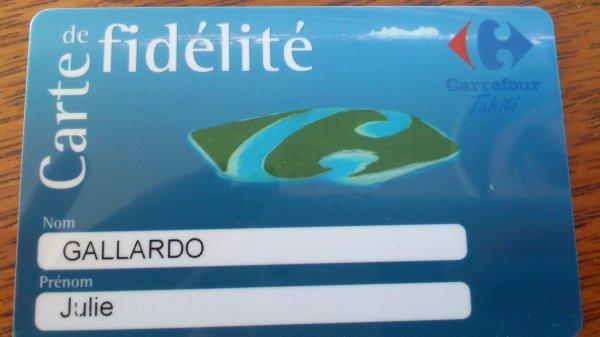 Carte Fidelite Carrefour Oublie.Carte De Fidelite Carrefour Deux Savoyards A Tahiti