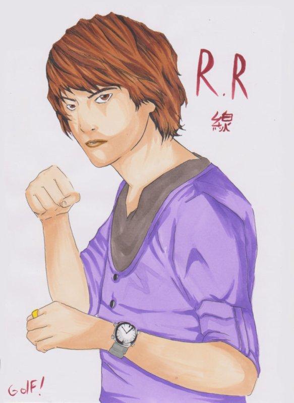 R.R un personnage de Ghost Fighter