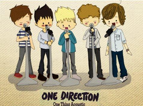 One Direction Trop Chou Se Dessin