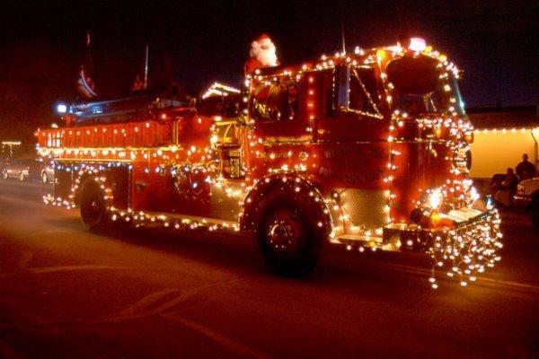 tres jolie camion de pompiers