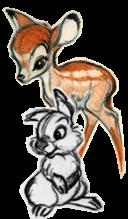 ... Cite moi ... Dans Bambi