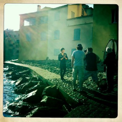 "Tournage du clip "" do you st Tropez """