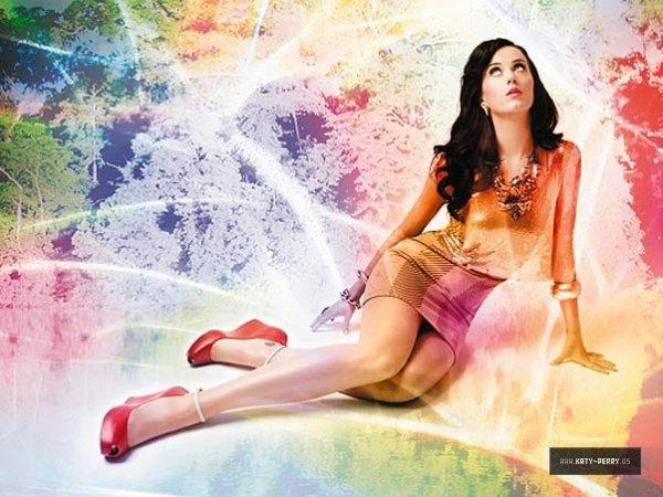Katy Perry termine l'année en beauté