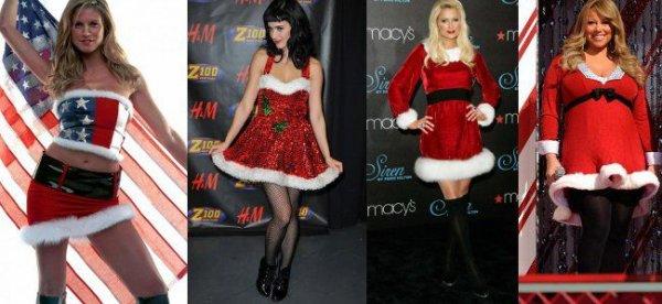 Heidi Klum, Katy Perry, Paris Hilton... Les mères noël sexy