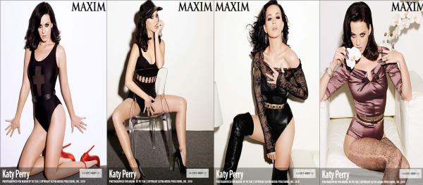 Katy Perry : ses photos sexy pour Maxim (Janvier 2011)