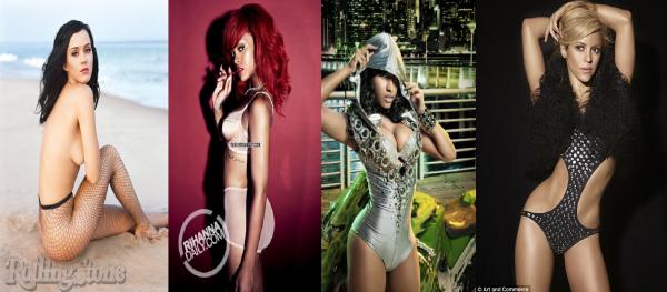 Le classement des chanteuses les plus sexy de 2011