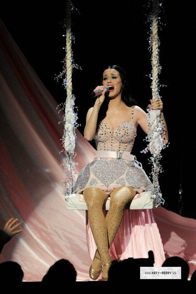 Grammy Awards 2011: Teenage Dream & Not Like In The Movie Medley
