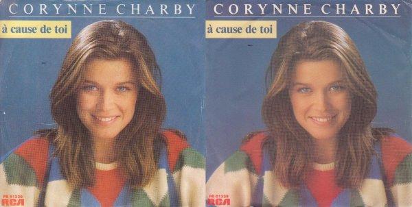 Le jeu des différences Corynne Charby - A cause de toi (1984)