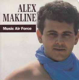 Coup d'oeil sur...  Alex Makline - Music Air Force (1989)