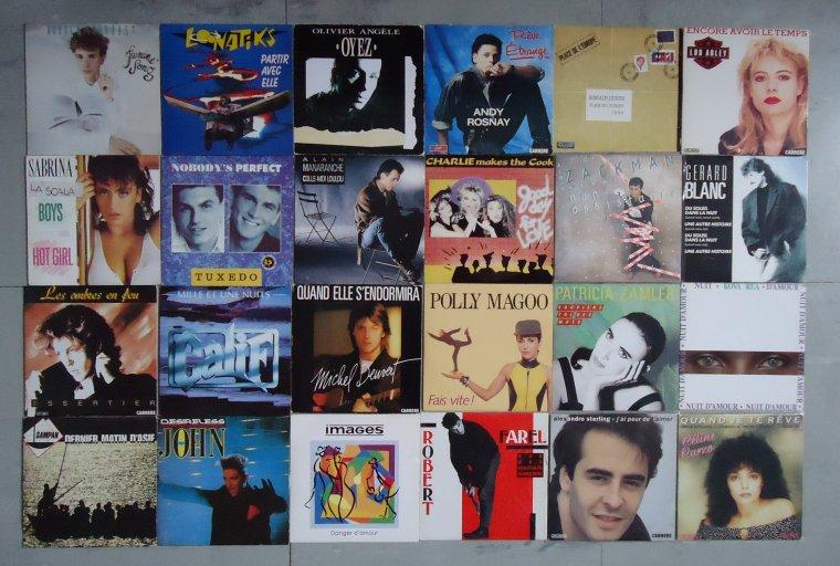 Collection CD rares originaux (1985-1993)