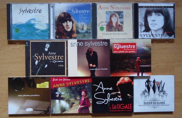 Collection Ma collection Anne Sylvestre (adultes)