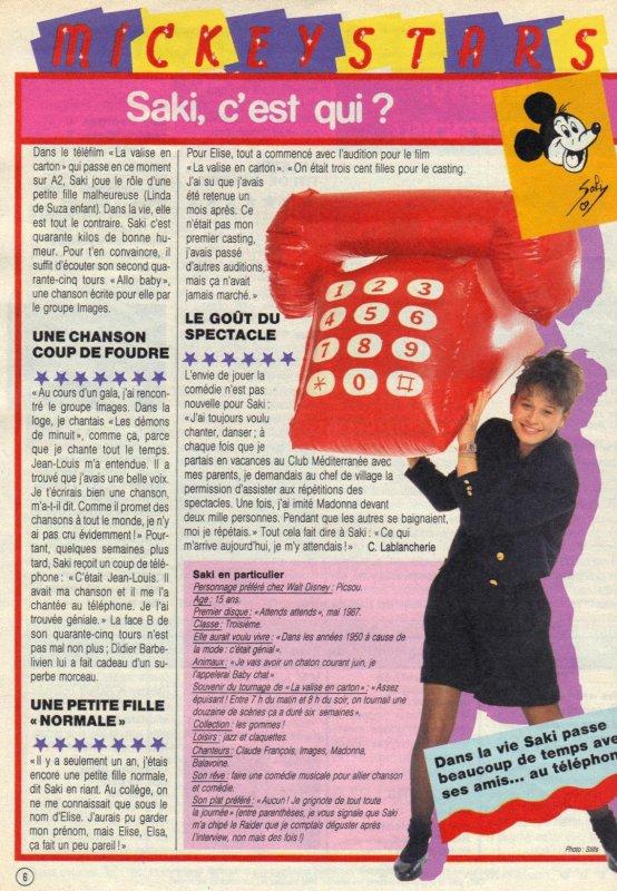 Articles  Saki -1988
