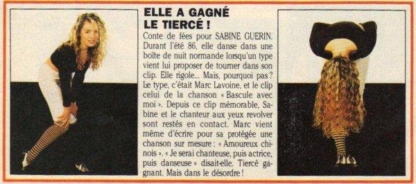 Articles  Sabine Guérin