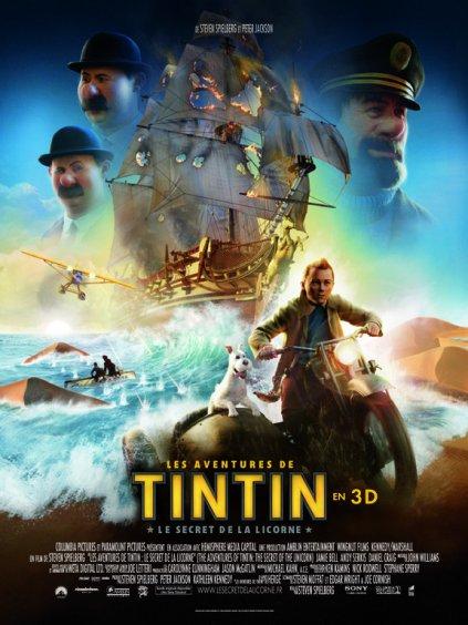Rien à voir Cinéma: Tintin et le secret de la Licorne (2011)