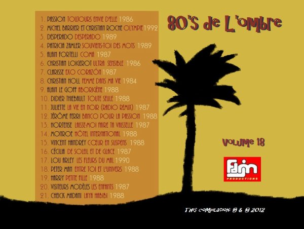 Les compilations  Volume 18 - Mai 2012