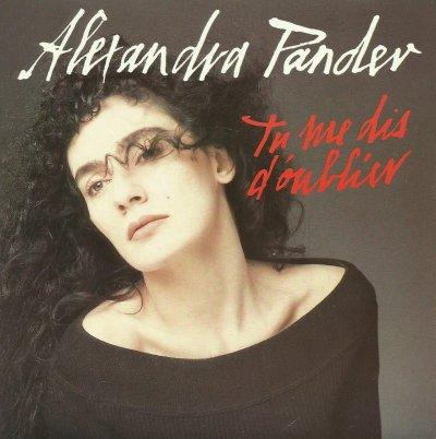 Coup d'oeil sur...  Alexandra Pandev - Tu me dis d'oublier (1989)