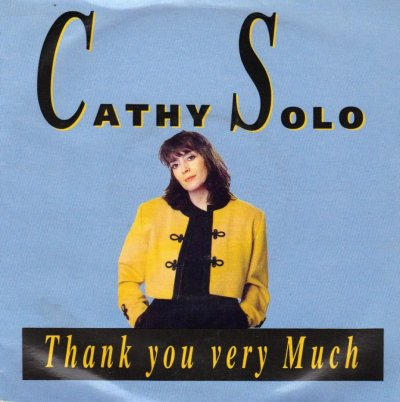 Coup d'oeil sur...  Cathy Solo - Thank you very much (1989)
