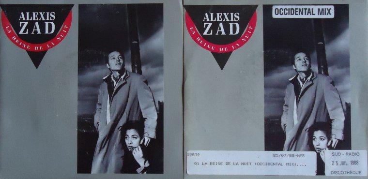 Le jeu des différences Alexis Zad - La reine de la nuit (1988)