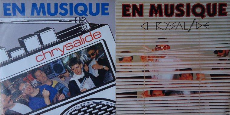 Le jeu des différences Chrysalide - En musique (1986-1987)