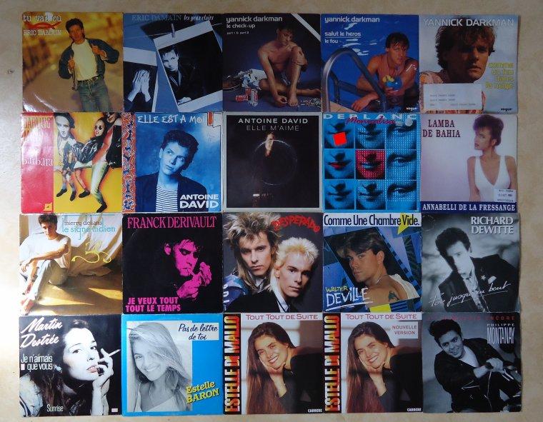 Collection 45 tours artistes de l'ombre - 4e partie: D