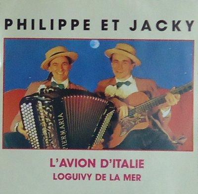 Coup d'oeil sur...  Philippe et Jacky - L'avion d'Italie (1987?)