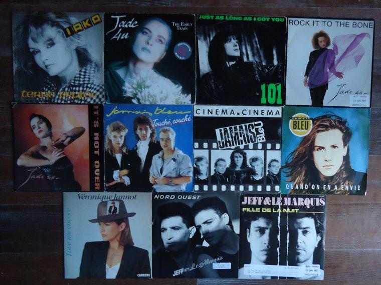 Collection 45 tours artistes de l'ombre - 9e partie: I J