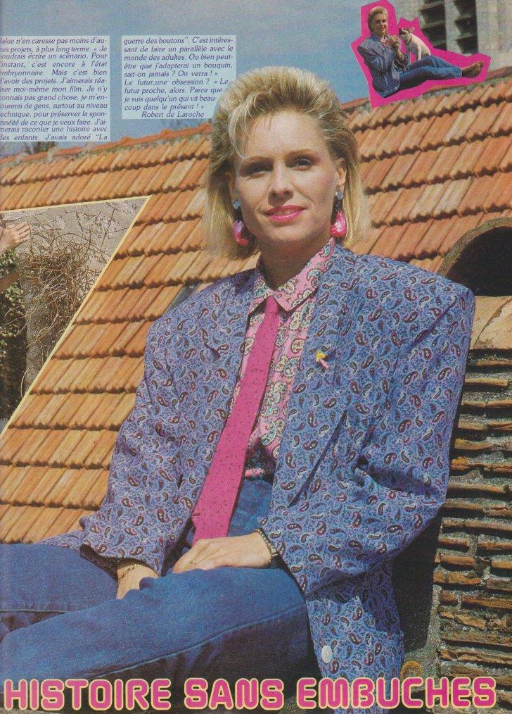 Articles  Jakie Quartz - 1985