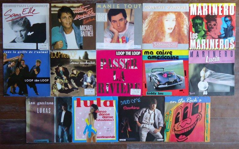 Collection 45 tours artistes de l'ombre - 12e partie: L (2)