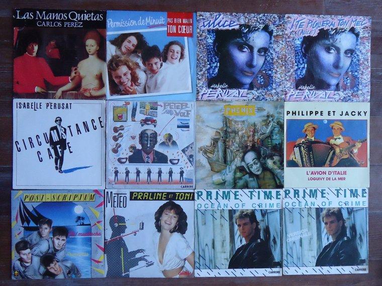 Collection 45 tours artistes de l'ombre - 16e partie: P