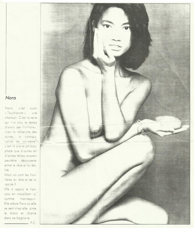 Côté promo  Nora - Touhstone (1988)