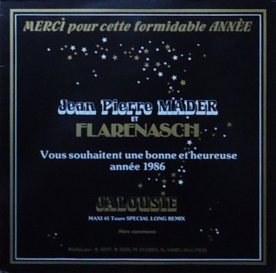 Côté promo  Jean-Pierre Mader - Jalousie (promo 1985)