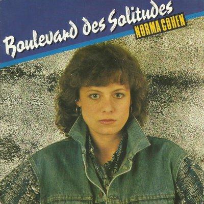 Coup d'oeil sur...  Norma Cohen - Boulevard des solitudes (1987)