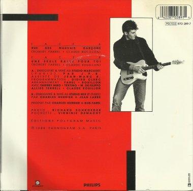Le jeu des différences Robert Farel - Rue des mauvais garçons, remix, remix et remix? (1988)