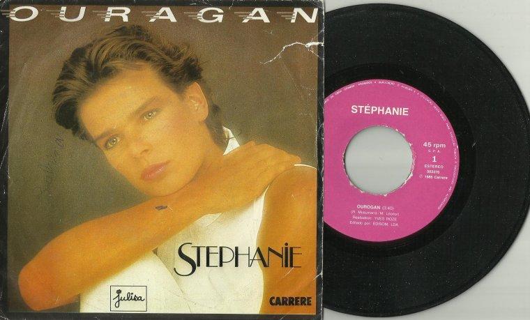 L'ombre de la lumière  Stéphanie - Ouragan (1986 - pressage espagnol)