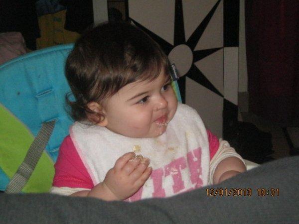 1 an a notre petite Luisa