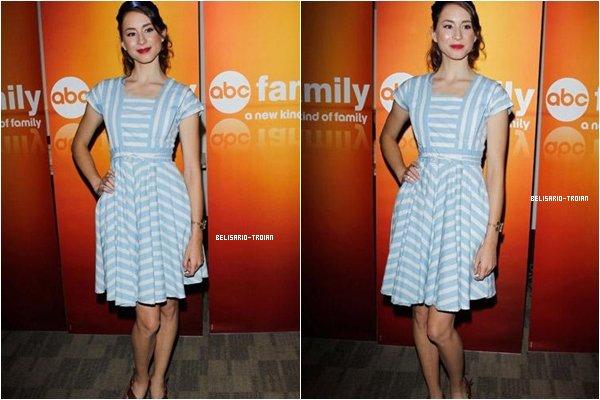 """EVENEMENT:Le 15/05/10:Troian et ses co-star ont assisté à """"l'ABC Day Attaché de presse"""" a Los Angeles"""