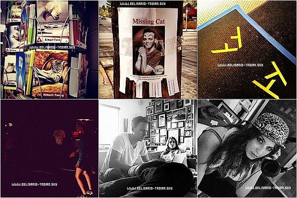 """Le 20/09/13: Voici de nouvelles photos de Troian posté sur Instagram et Twitter Voici deux nouvelles photos de Troian lors d'une convention pour """"Exiles"""""""