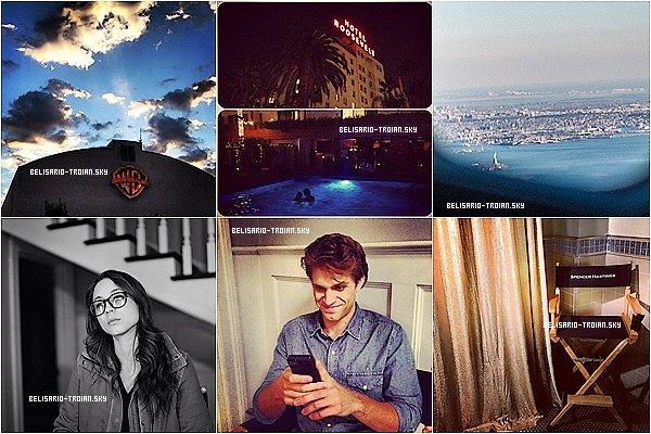 Le 26/27.09.13: Voici de nouvelles photos posté par Troian sur Twitter & Instagram  Troian et magnifique sur l'une des photos elle ferait un beau couple avec Keegan <3