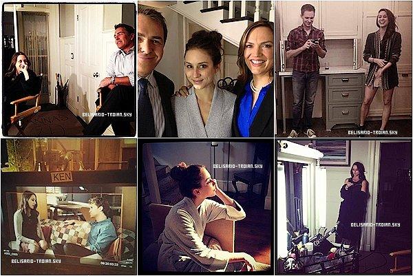 """Découvrez 6 nouvelles photos de Troian sur le tournage de""""Pretty Little Liars"""" (4X20) Découvrez également 5 nouvelles photos posté par Troian sur Twitter et sur Instagram"""