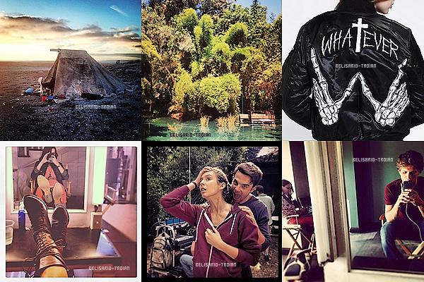 Découvrez de nouvelles photos posté par Troian sur Twitter et sur Instagram .