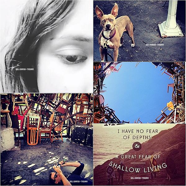 """Voici de nouvelles photos que Troian a posté sur """"Instagram et twitter"""" ."""