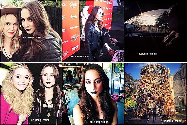 Découvrez de nouvelles photos de Troian qu'elle a twitter lors qu'elle était a AP de PLL Découvrez également quelque photos lors qu'ils était entrain de le regardez ainsi que des photos promo du 4X13