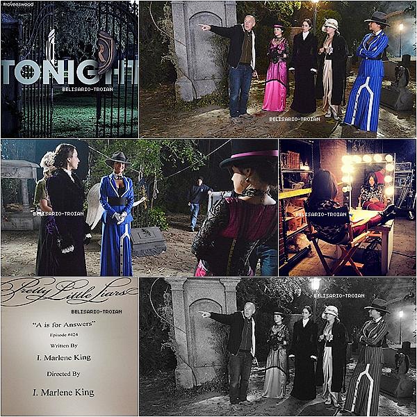 """Découvrez de nouvelles photos de Troian quelle a posté sur """"Instagram et Twitter"""". Découvrez également 3 photos lors du tournage du 4X13 l'épisode de Halloween ."""