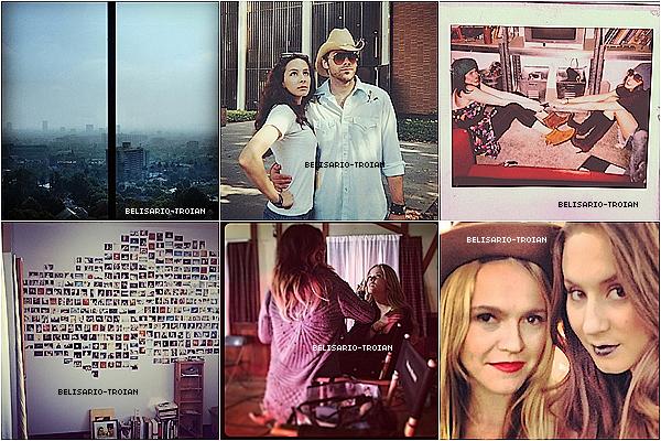 Découvrez des nouvelles photos de la sublime Troian posté sur Instagram & sur Twitter